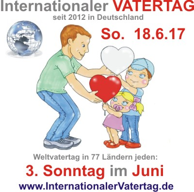 6 Internationaler Vatertag 2017 400x400